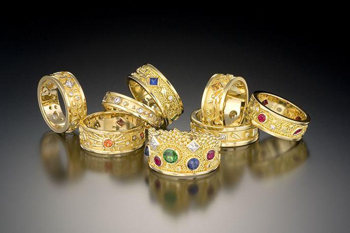 PASSION RING COLLECTION AND CROWN RING