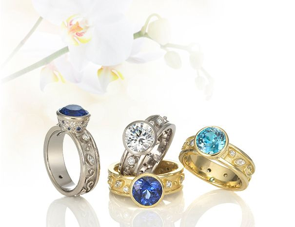 Single StonePassion Rings