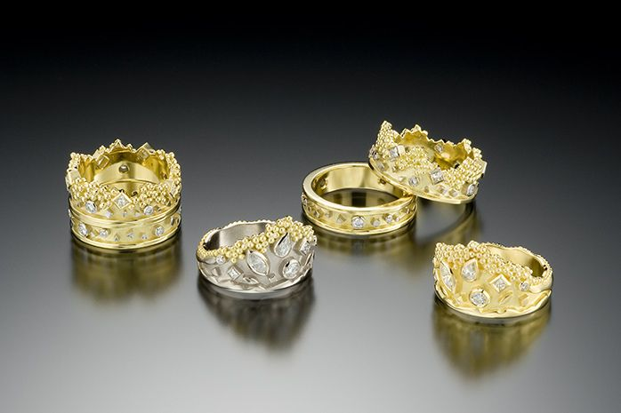 CROWN AND TIARA RING COLLECTION