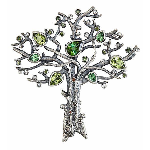 BLOSSOM TREE BROOCH