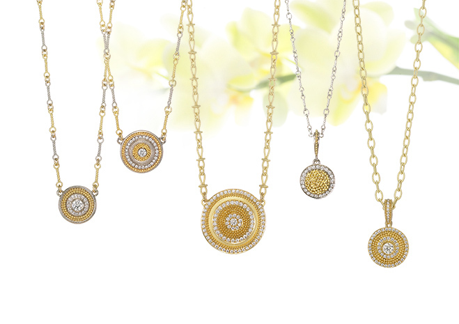 Circle of Light Necklaces