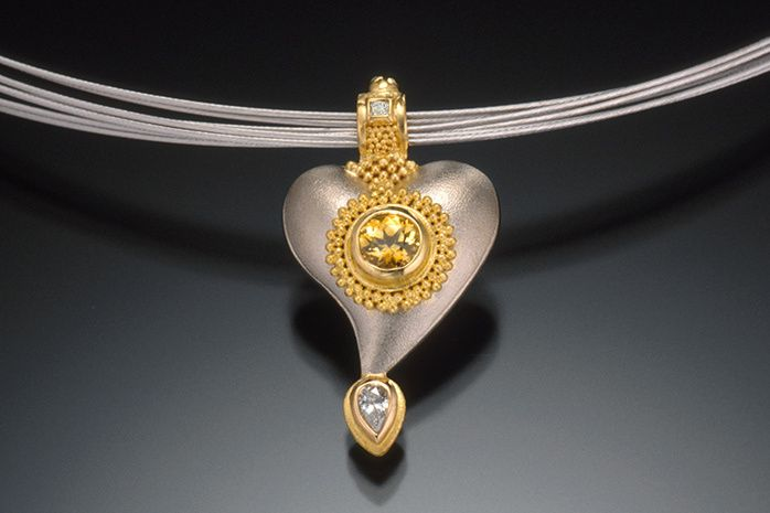 HEART PENDANT NECKLACE, small