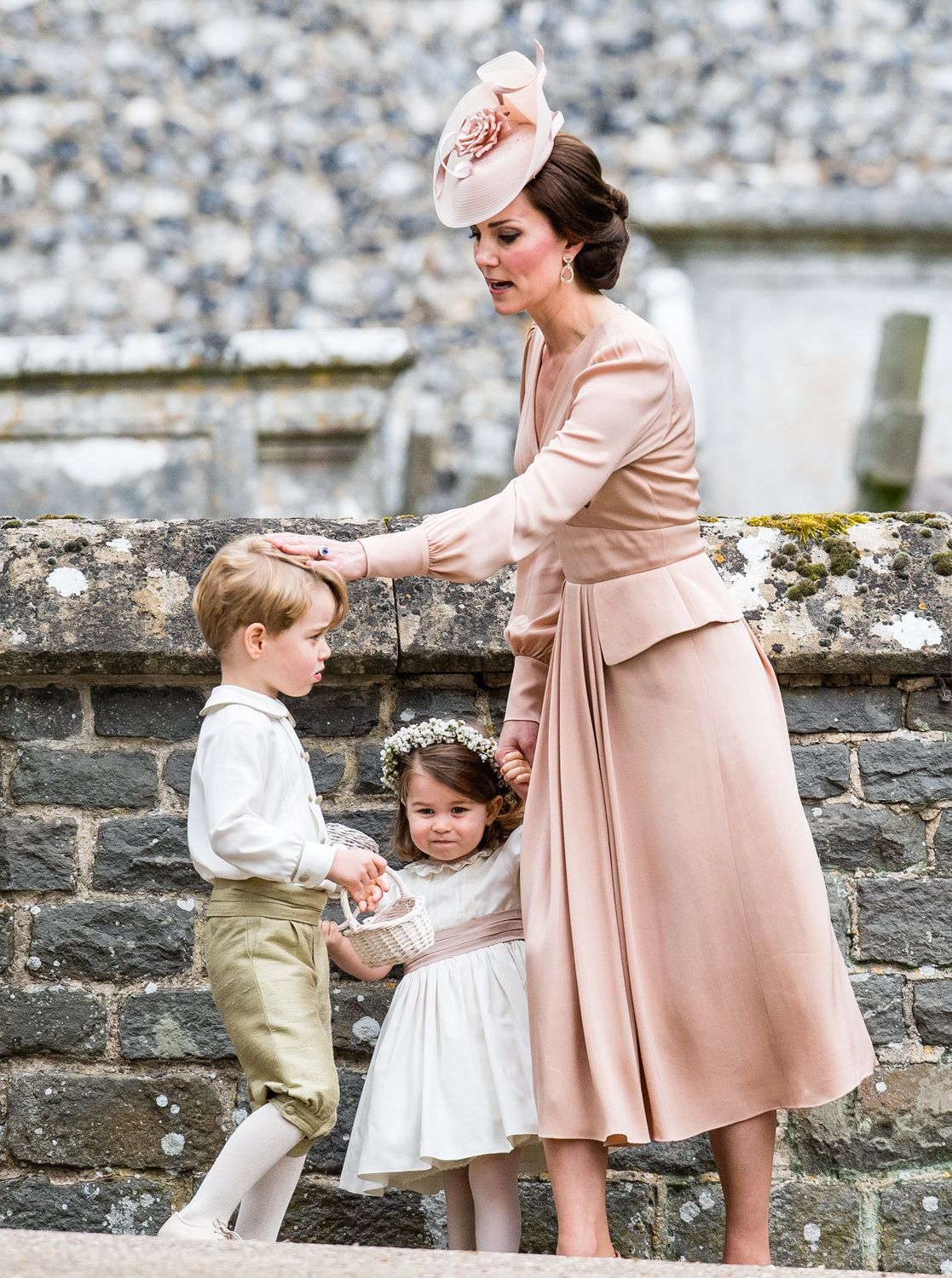 Duchess of Cambridge, Prince George & Princess Charlotte