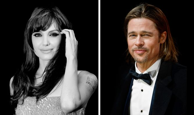 ANGELINA JOLIE, LONDON / BRAD PITT, LONDON