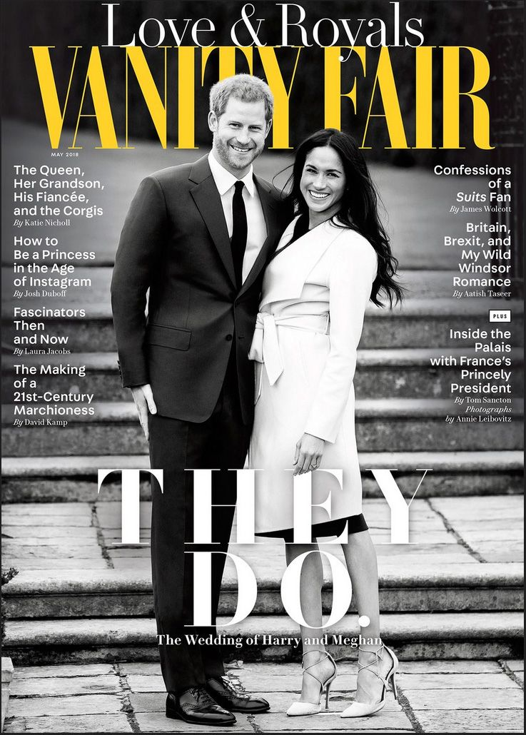Duke & Duchess of Sussex Vanity Fair cover