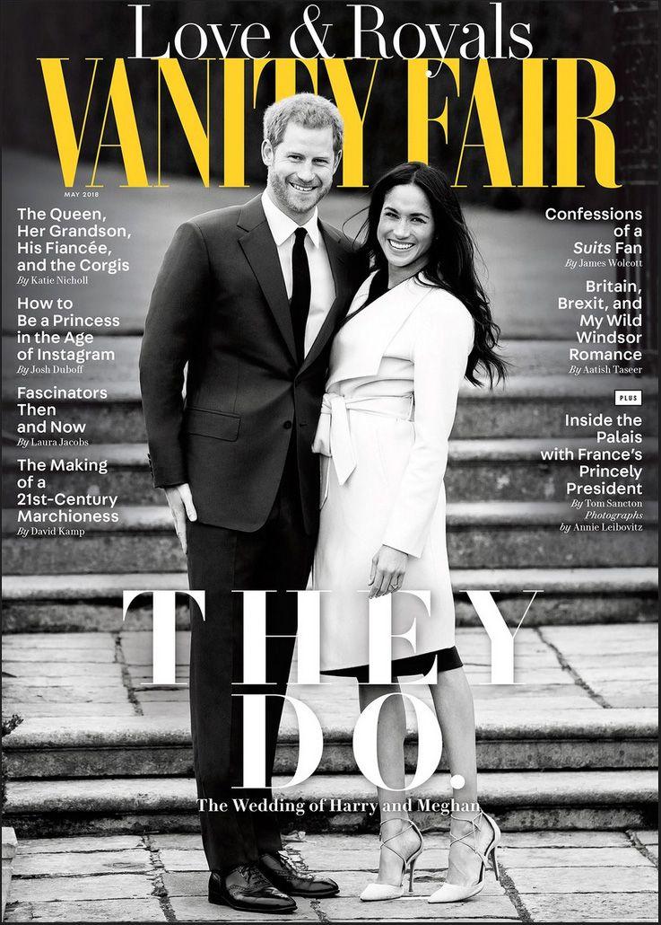 Duke & Duchess of Sussex Vanity Fair cover