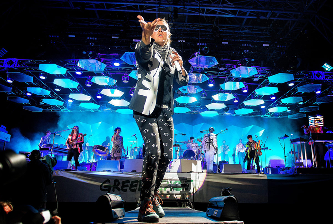 ARCADE FIRE, GLASTONBURY