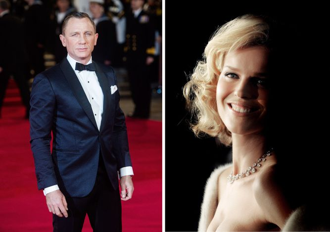 DANIEL CRAIG, LONDON / EVA HERZIGOVA, LONDON