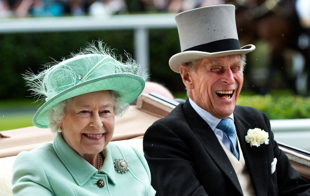 Queen Elizabeth II & Duke of Edinburgh