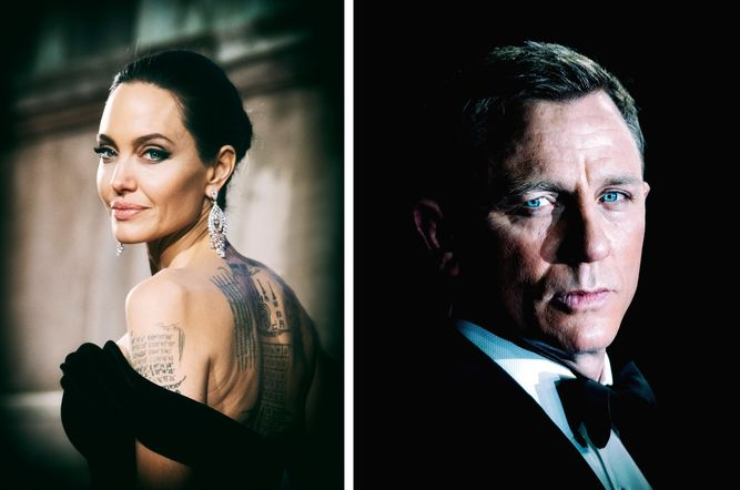 Angelina Jolie, James Bond, daniel craig