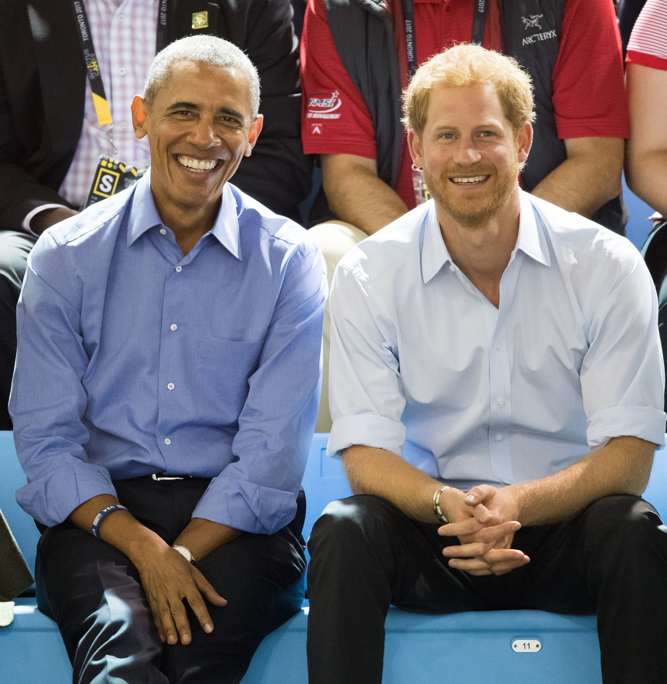 Barack Obama & Duke of Sussex