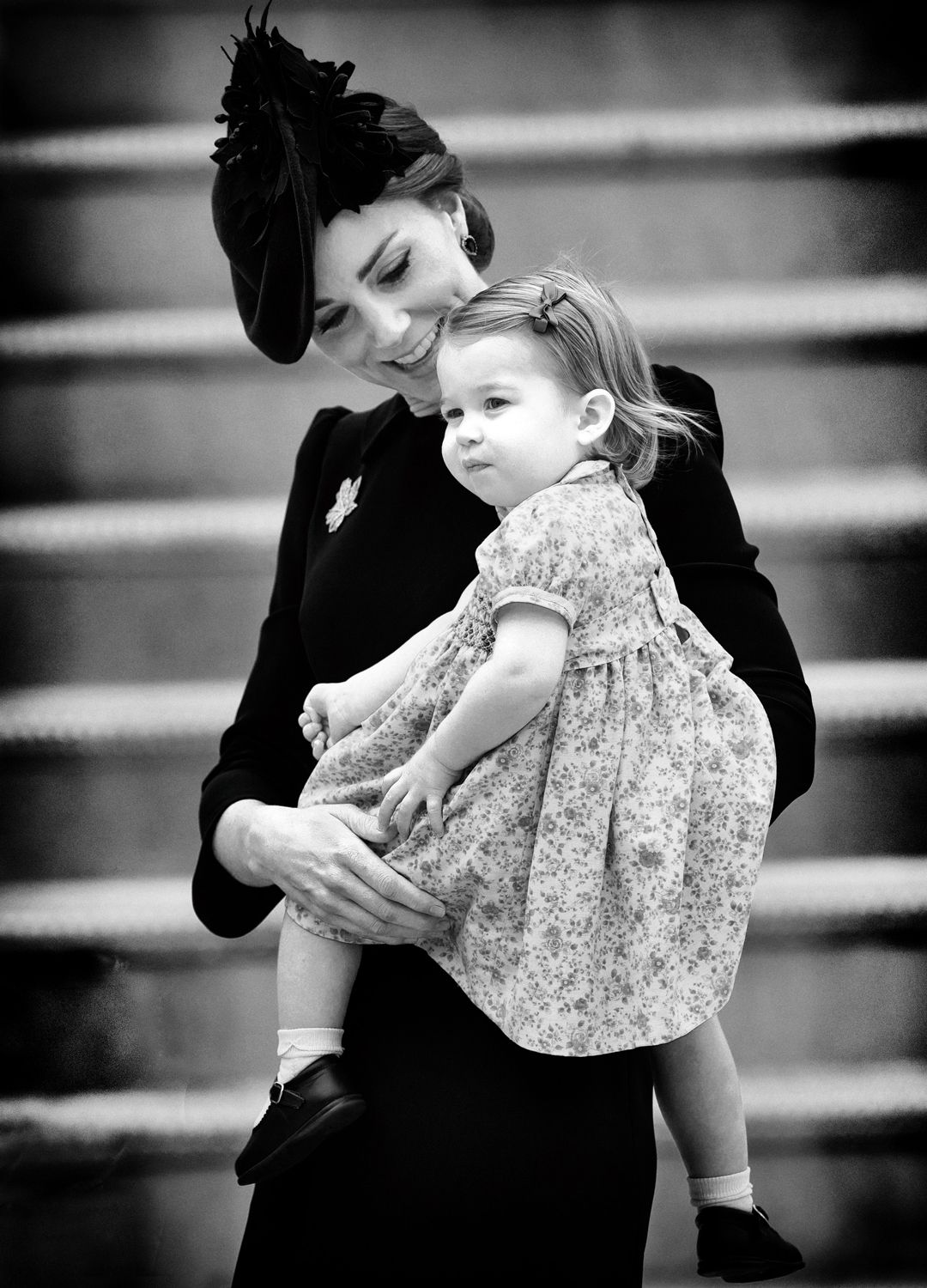 Duchess of Cambridge & Princess Charlotte