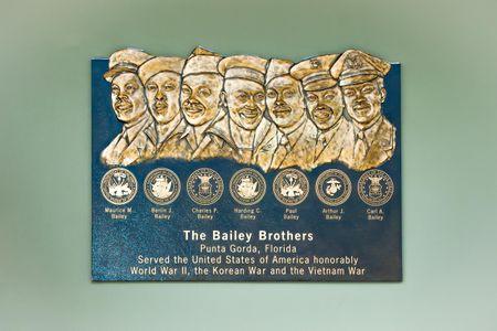 Bailey Brothers Bronze Plaque