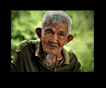 Old Man in Bangkok