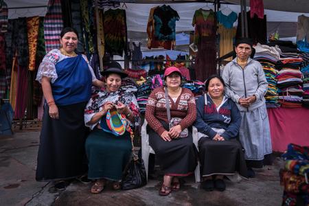Eucadorian merchants