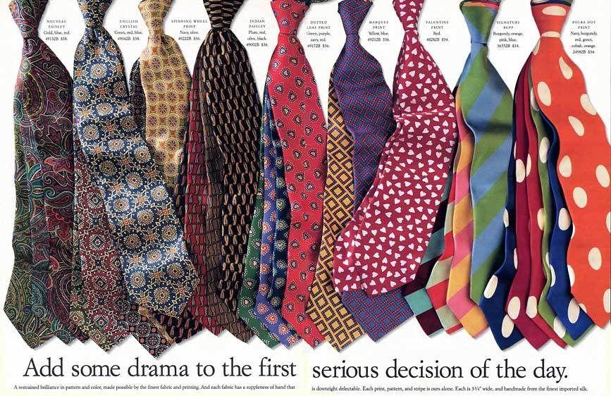 J. Crew ties
