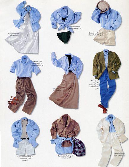 J. Crew Fashion Still Life