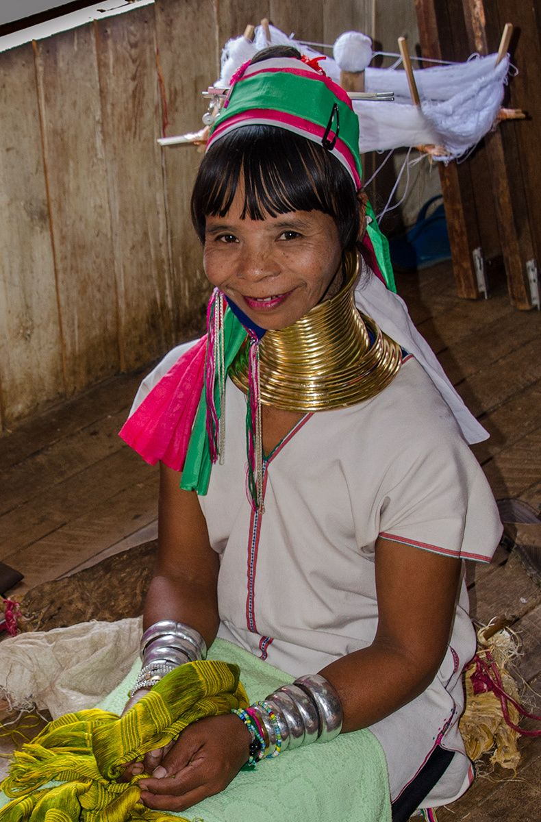 Padaung Woman, Northern Thailand