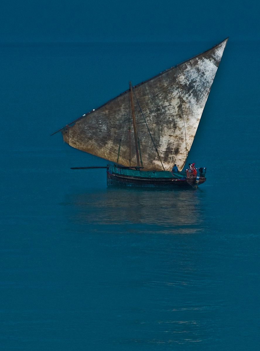 Dhow boat, Zanzibar, Africa
