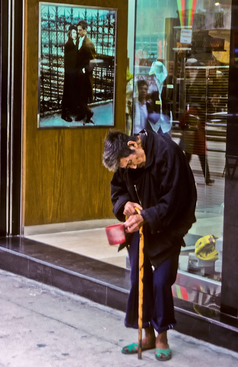 Beggar Woman, Hong Kong