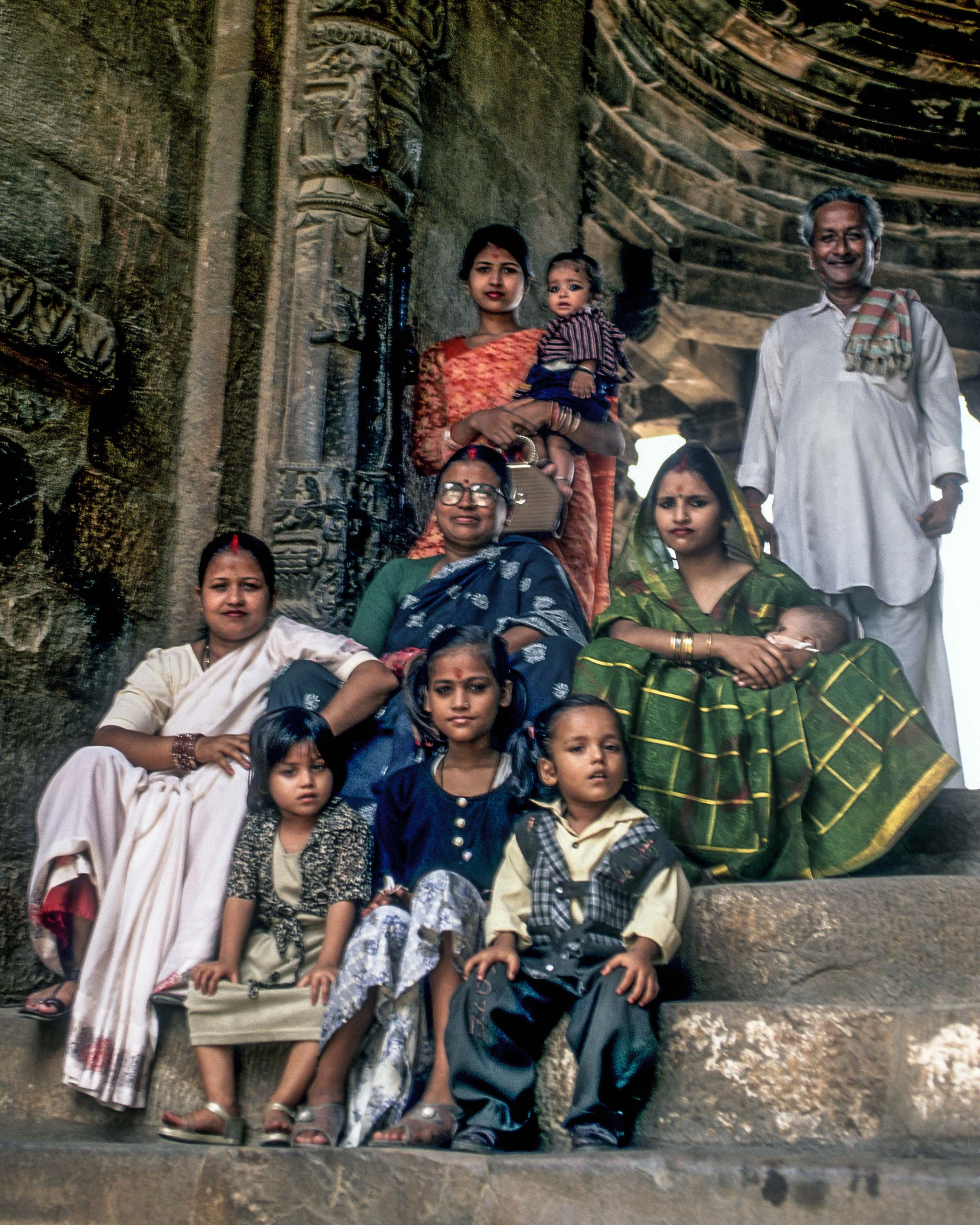 Indian Family, New Delhi, India