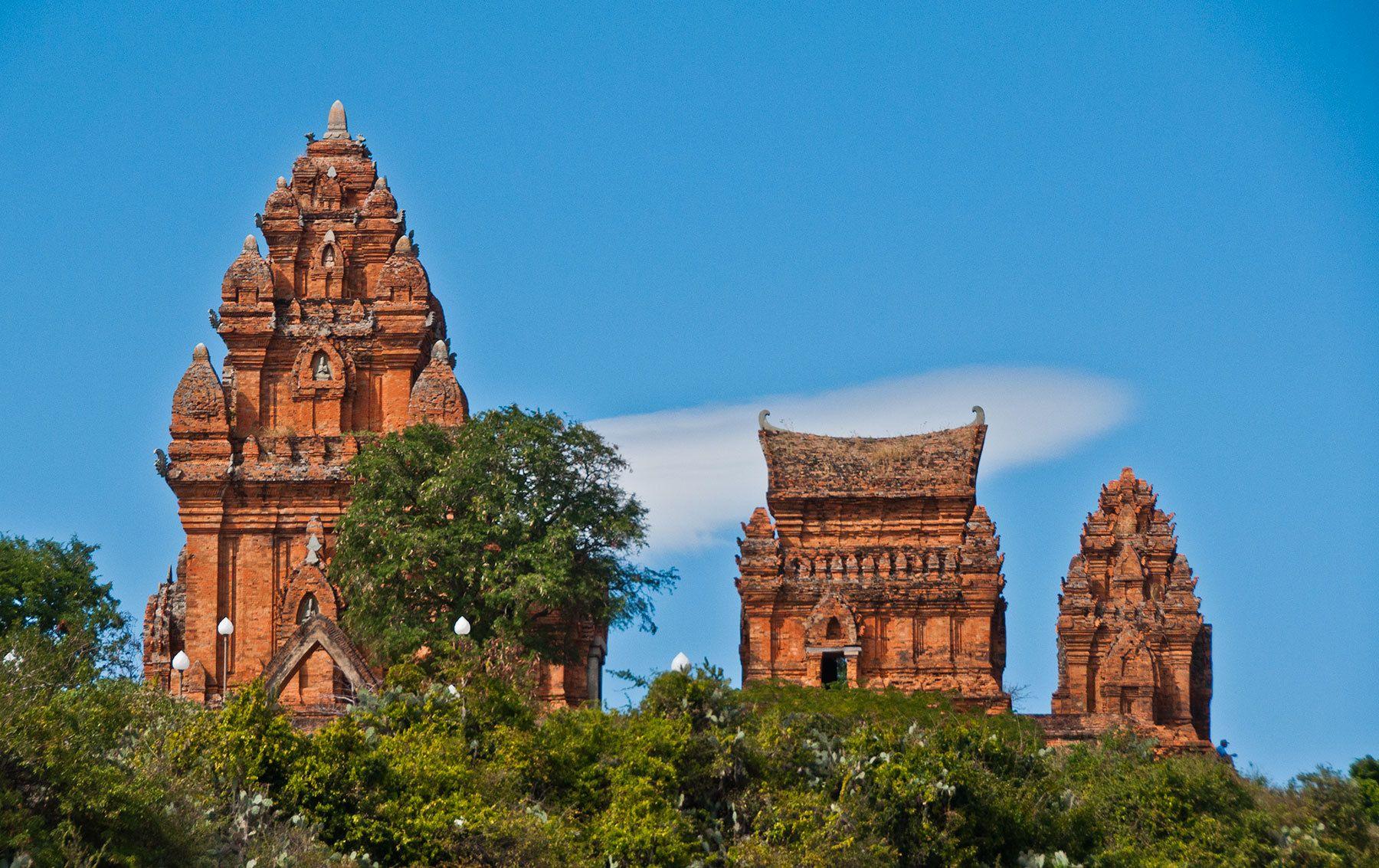 Cham Towers, Phan Rang Thap Cham, Vietnam