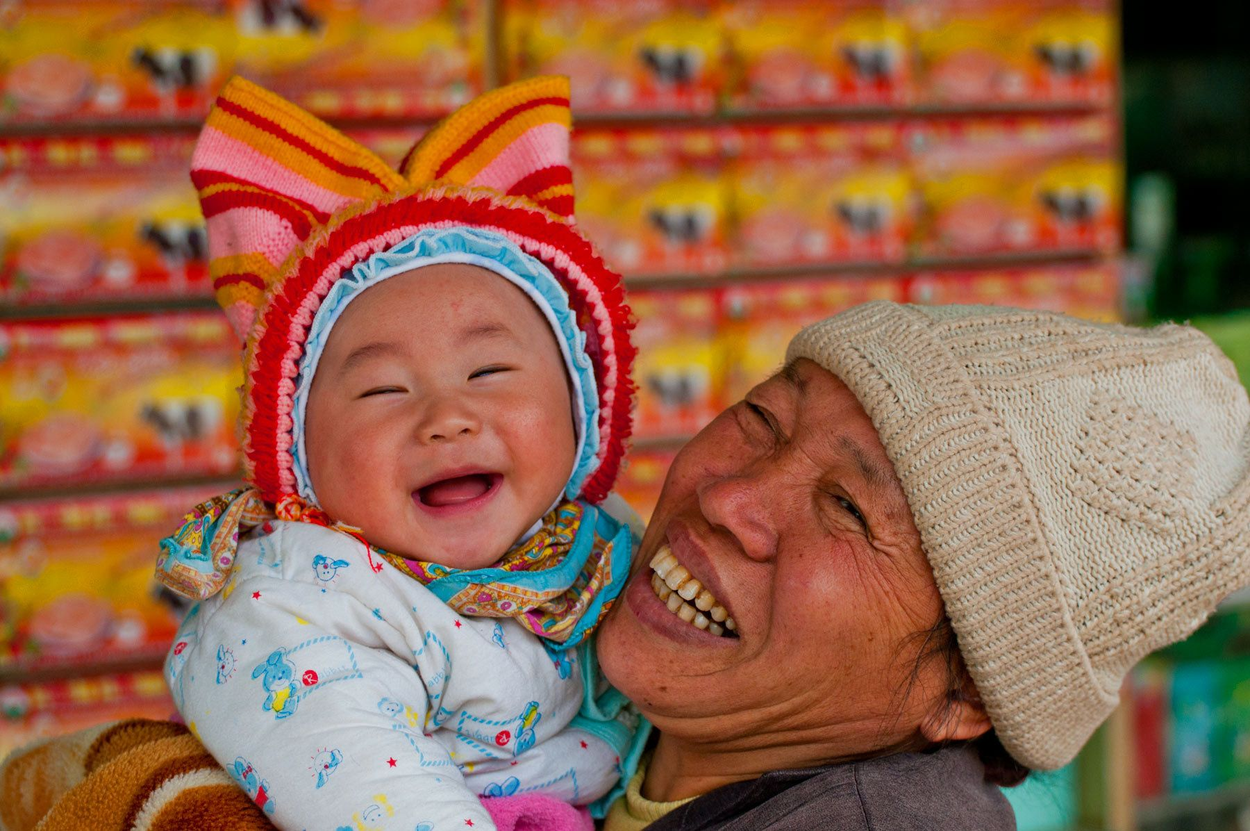 Grandma and Baby, Vietnam