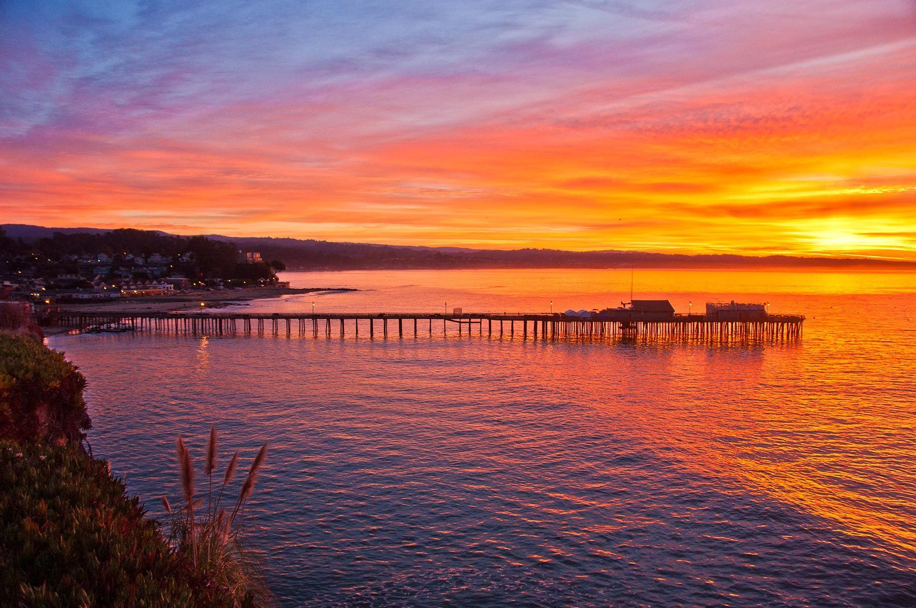 Capitola Wharf at Sunrise, California