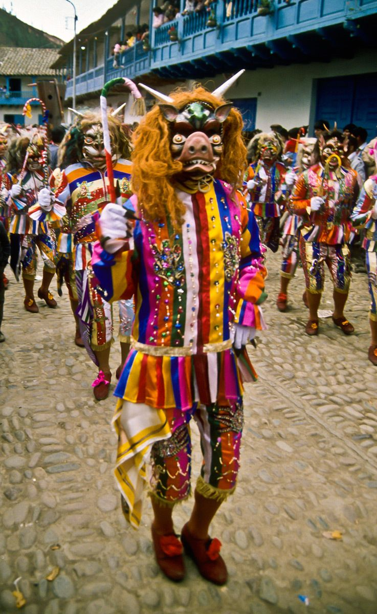 Hellish Creatures, Festival of the Virgin Carmen, Paucartambo, Peru