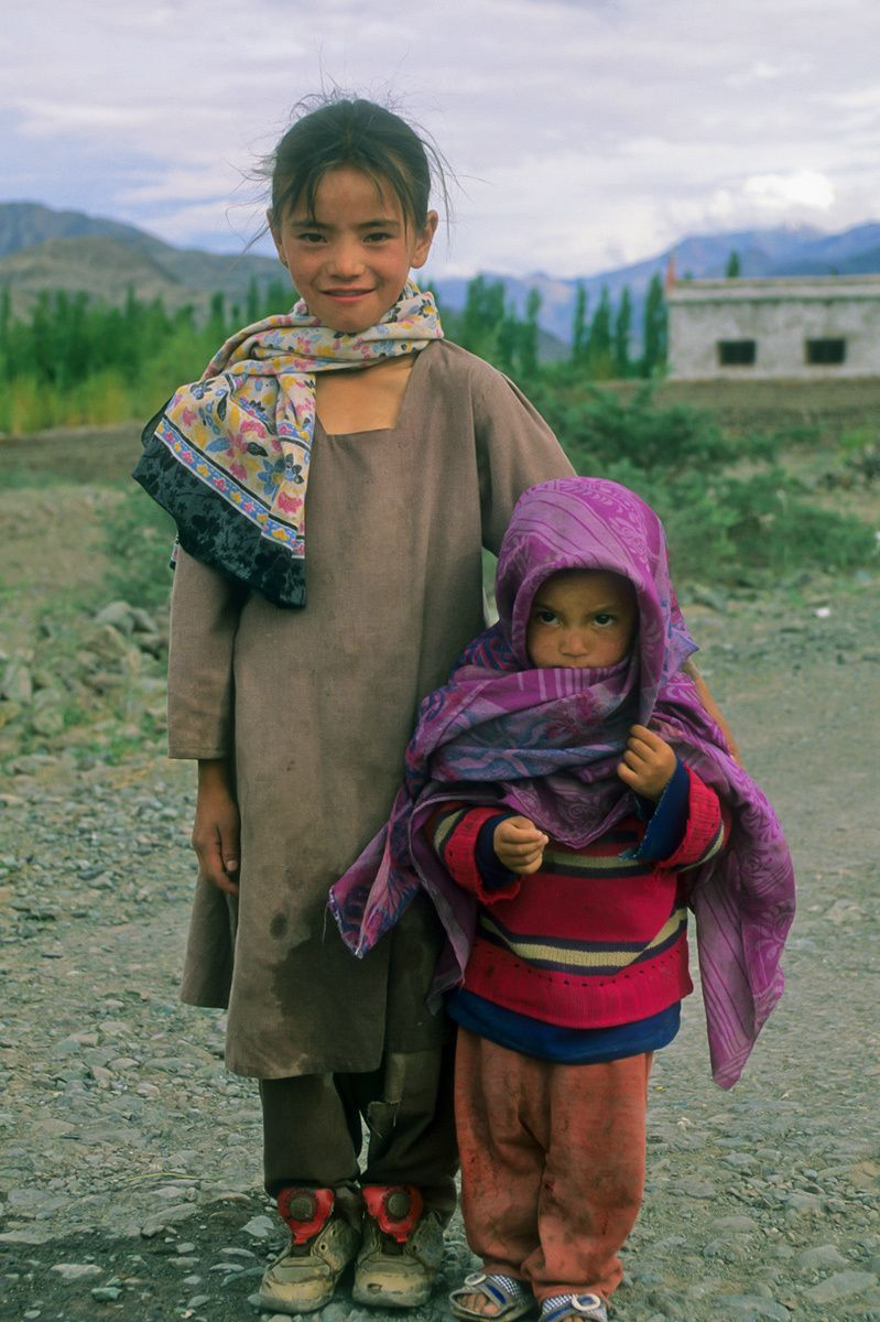 Sister and Brother, Ladakh, Northern India