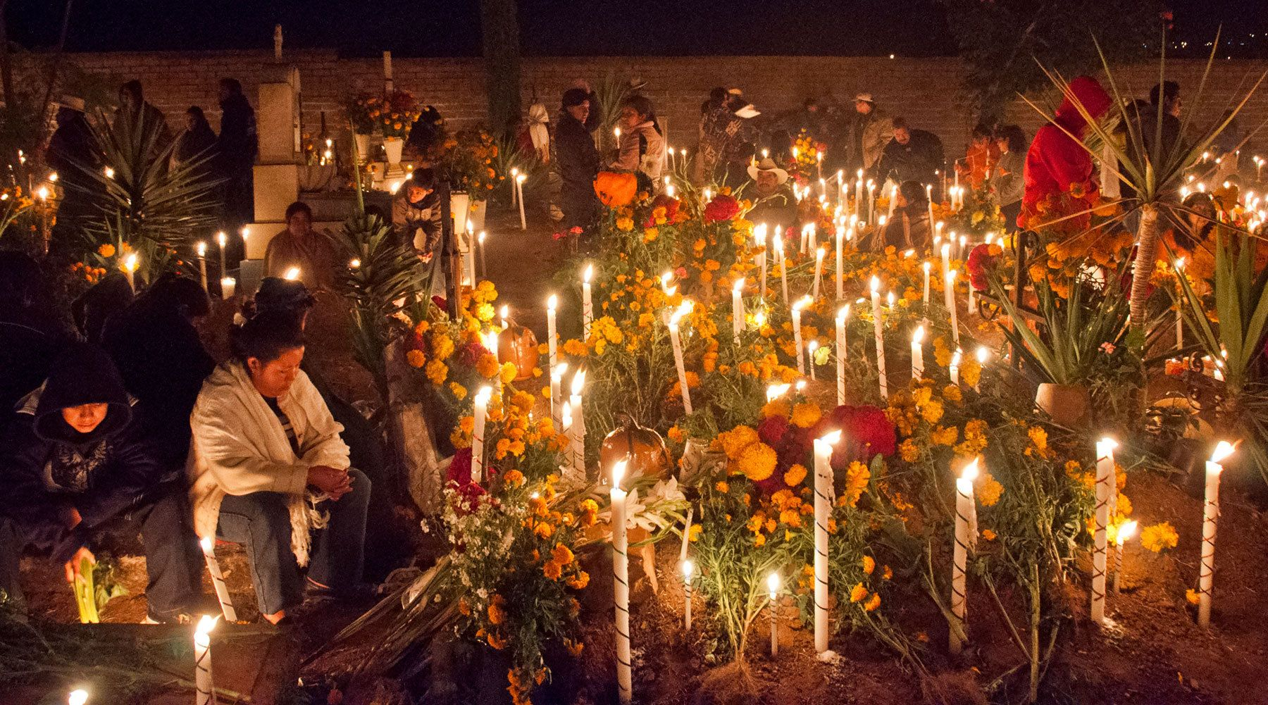 Cemetery, Day of the Dead, Oaxaca, Mexico