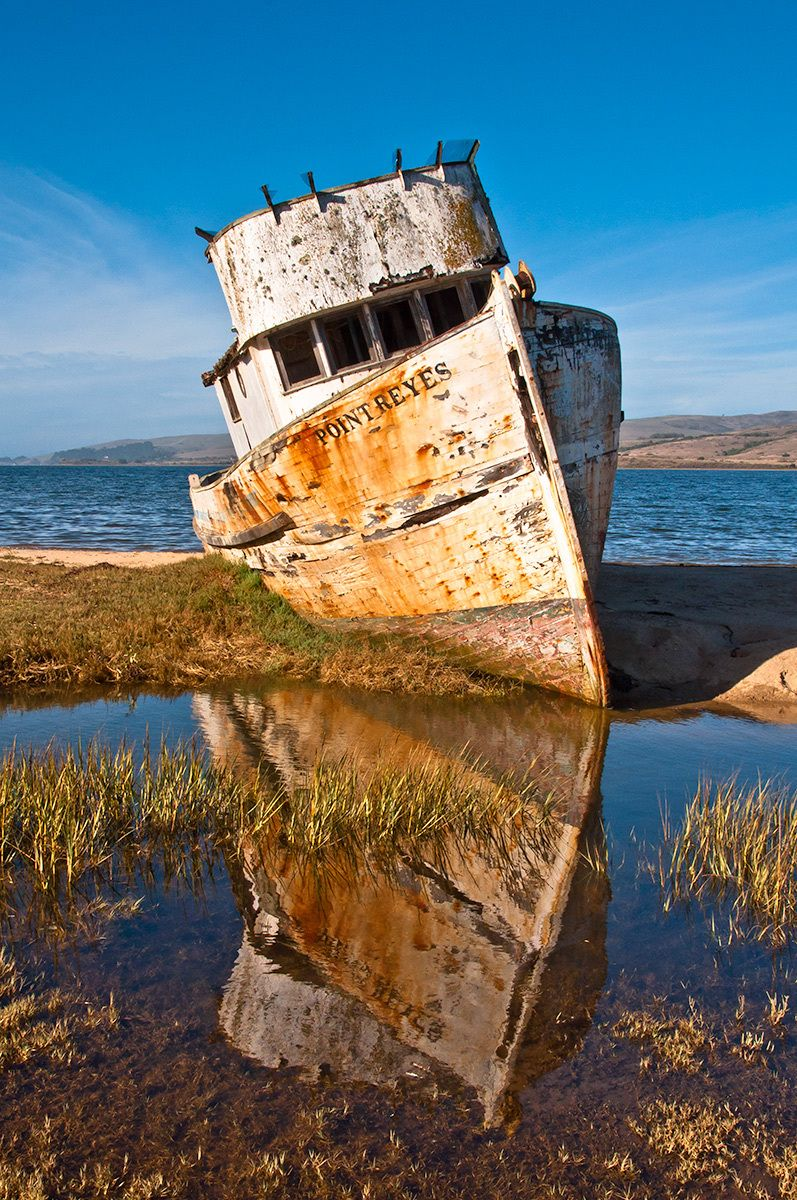 Boat, Point Reyes, California