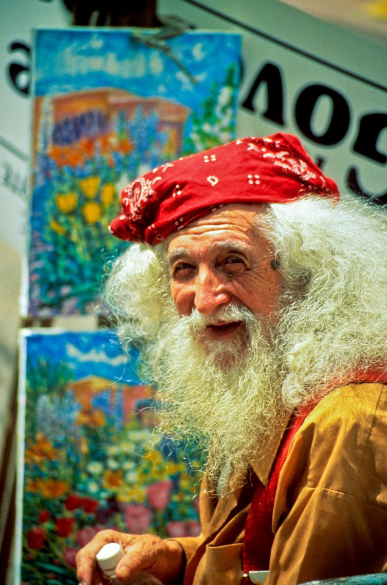 Old Painter, Santa Fe, New Mexico
