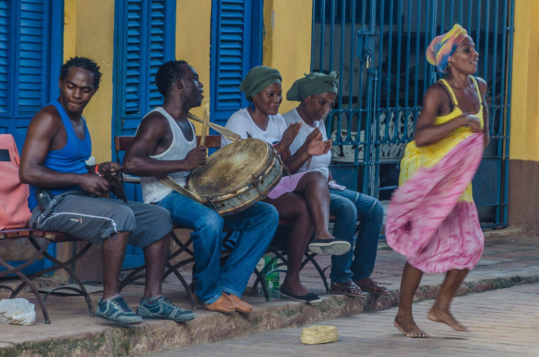 Musicians and Dancer, Trinidad, Cuba