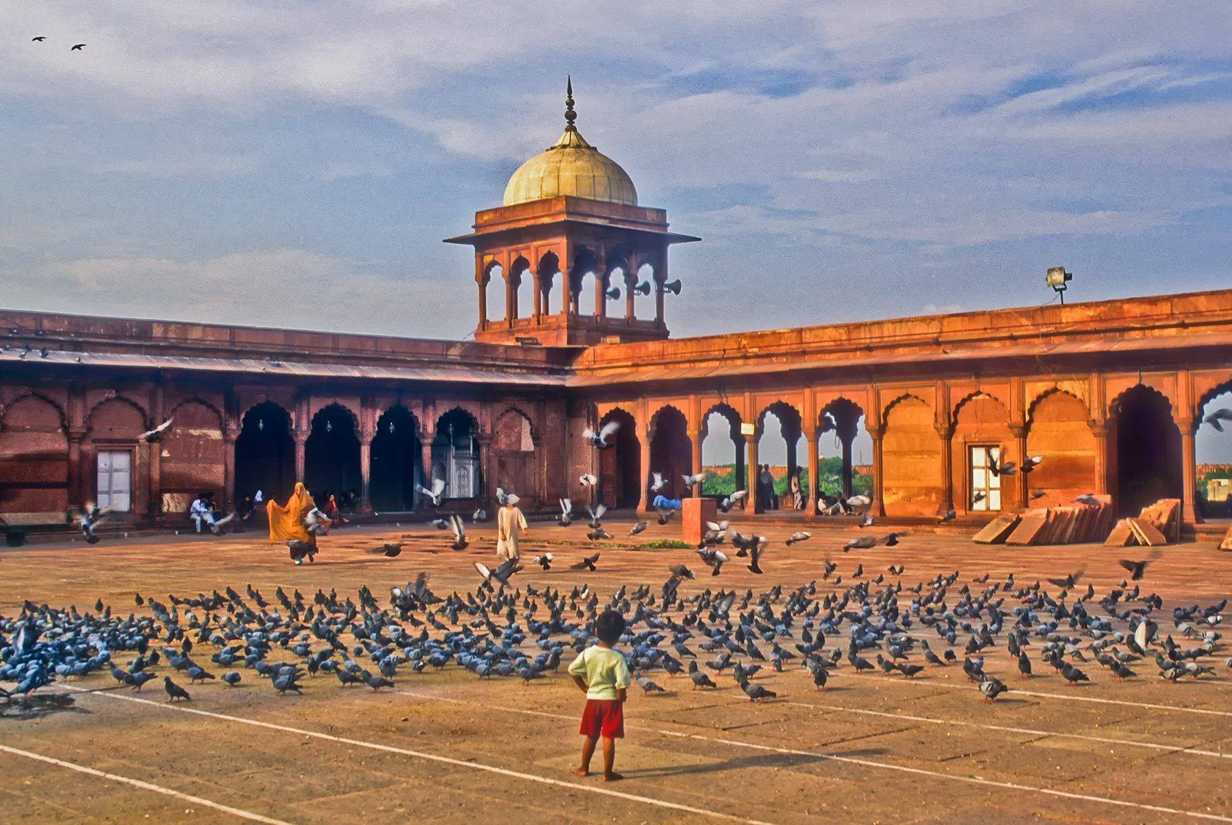 Mosque, Old Delhi, India