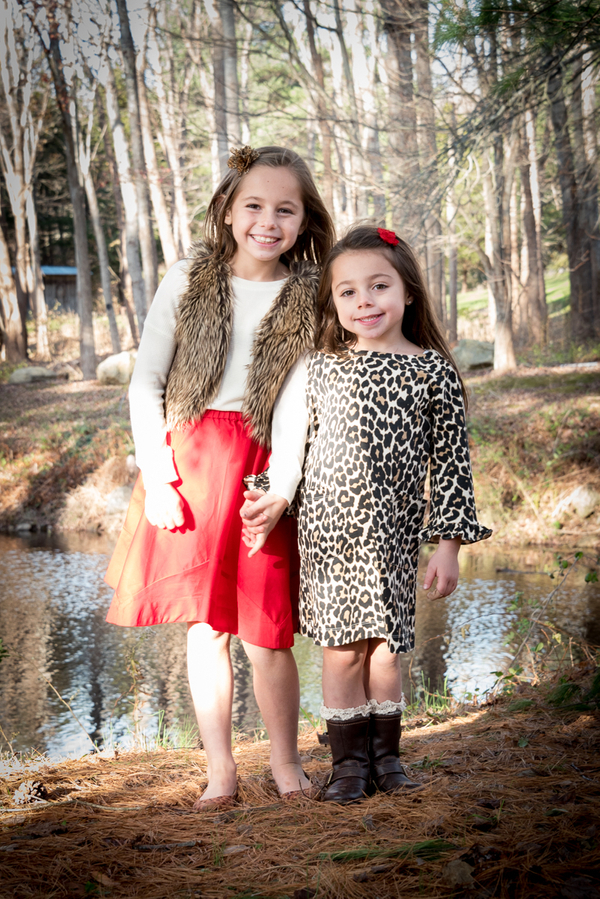 Sisters in Leopard and Fur