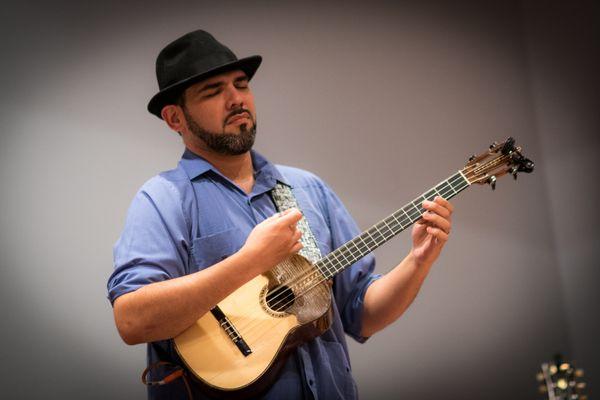 Jorge Velm from Venezuela with Sam Reider Band