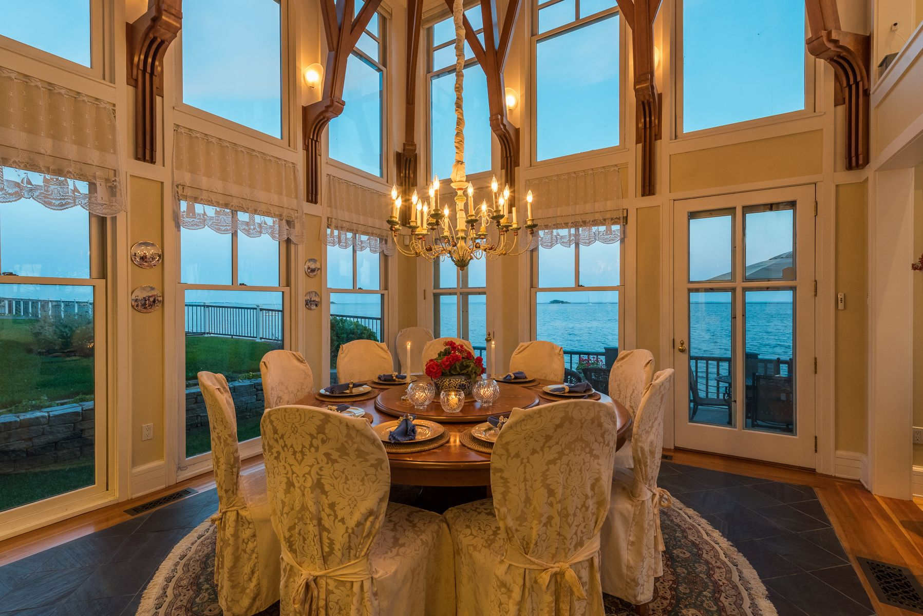 Dining Room at Dusk
