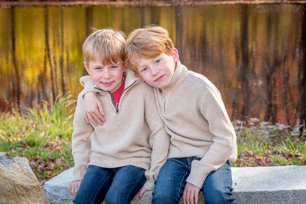 Twins  at Parmelee Farms Killingworth