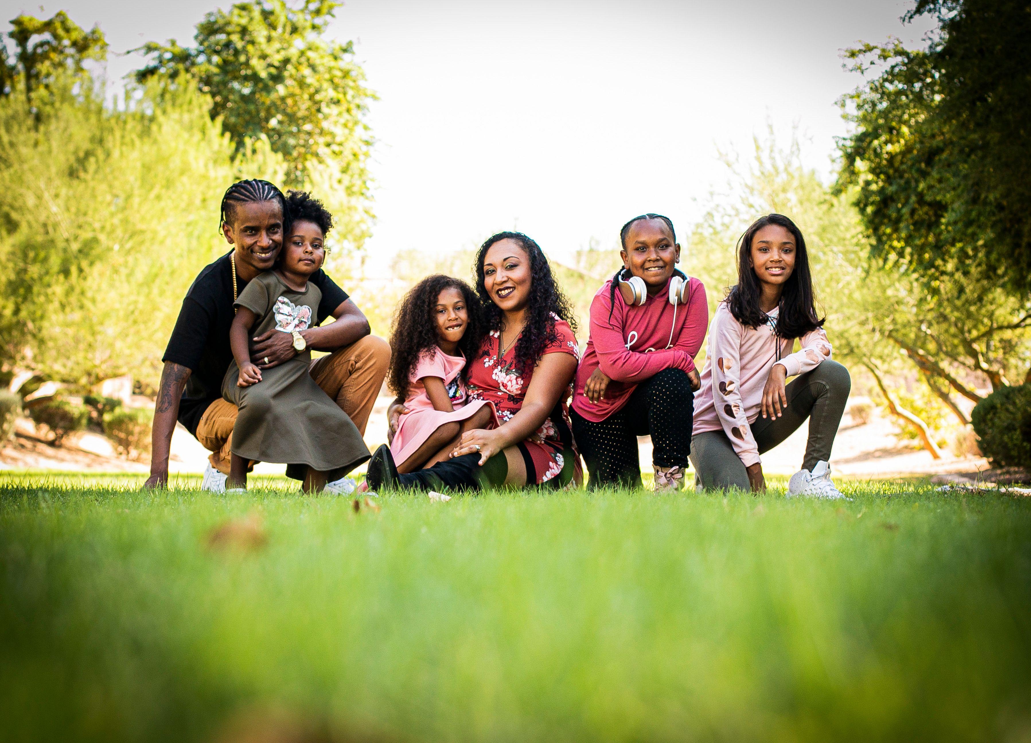 Time Capsule Family Portrait