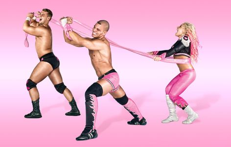 The Hart Dynasty- David Hart Smith, Tyson Kidd, Natalya