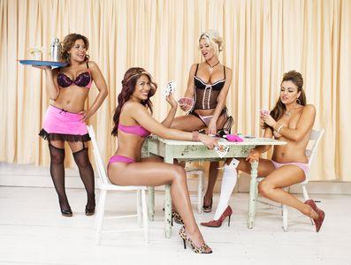 WWE Divas: Mickie James, Melina, Ashley, and Maria