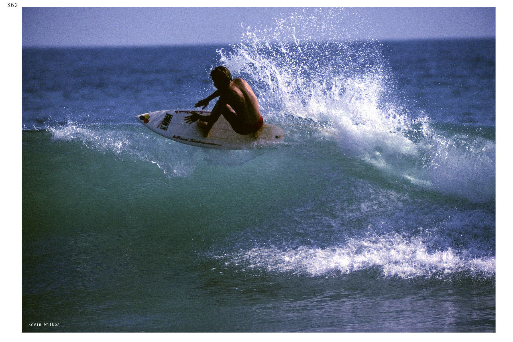 Tom Curren. Trestles August 1982. Kevin Wilkes copyright 2019.