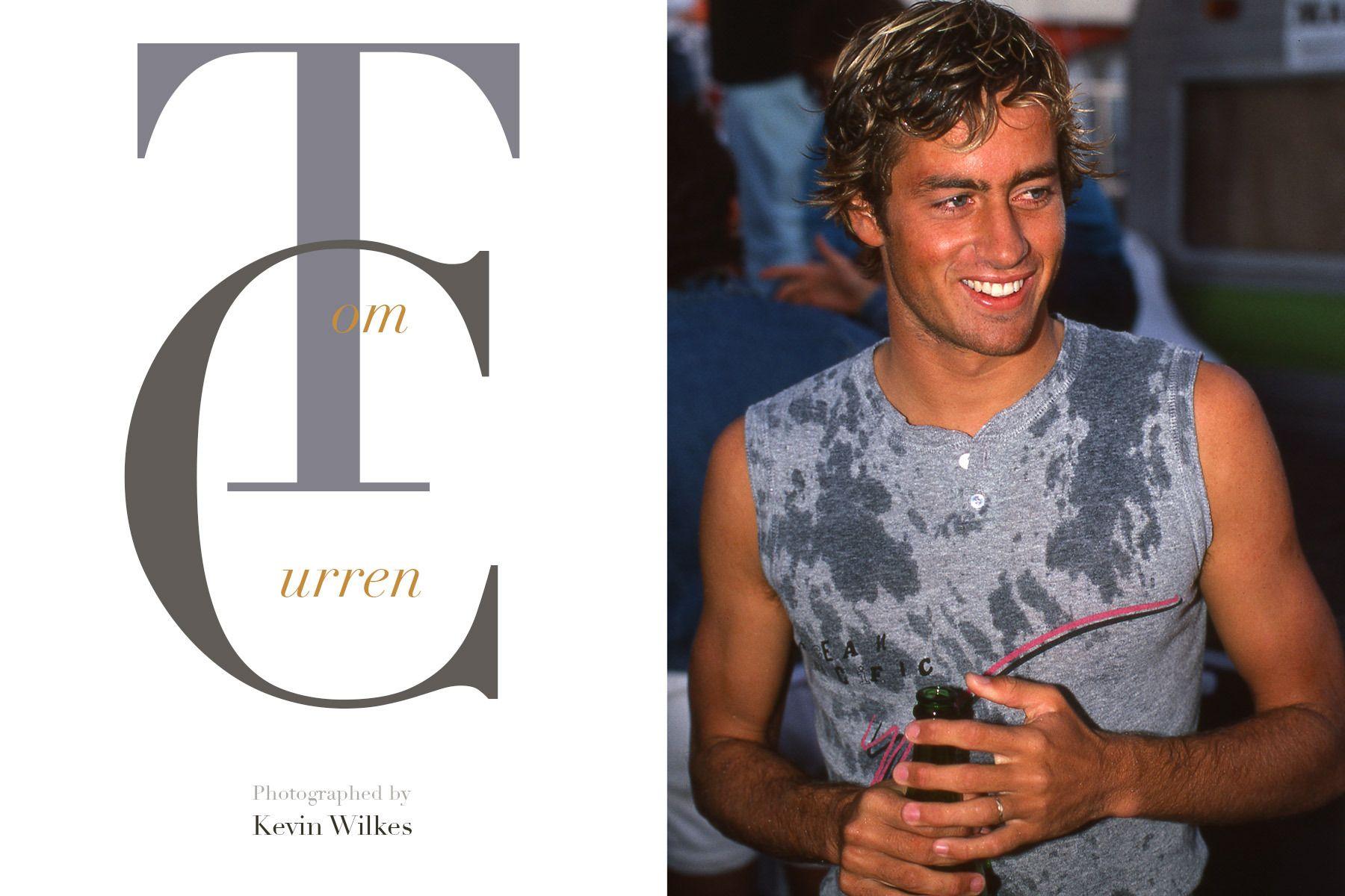 Tom Curren. Bells Beach, Australia 1985. Kevin Wilkes copyright 2018.
