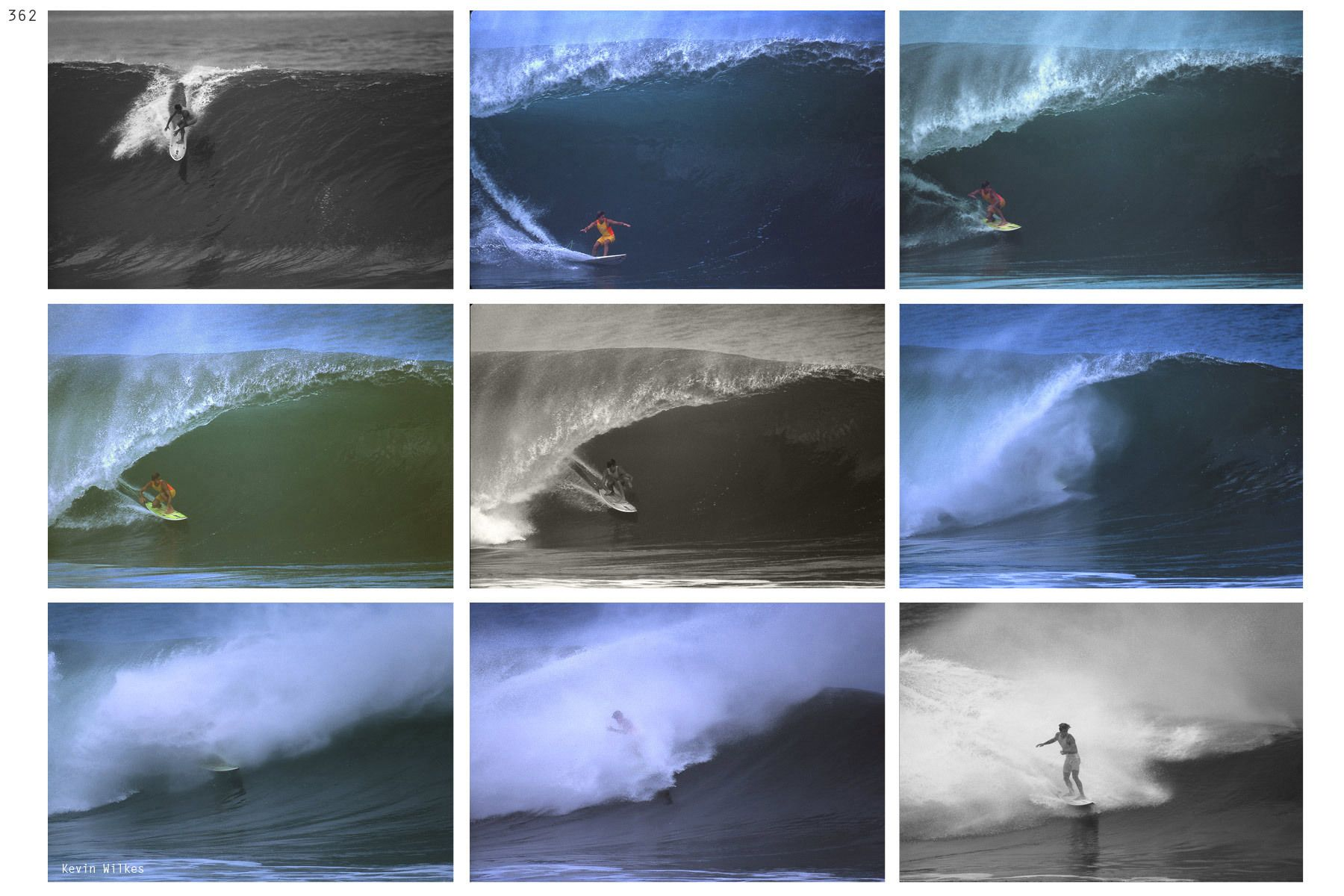 Tom Curren. Pipeline, December 1987. Kevin Wilkes copyright 2019.