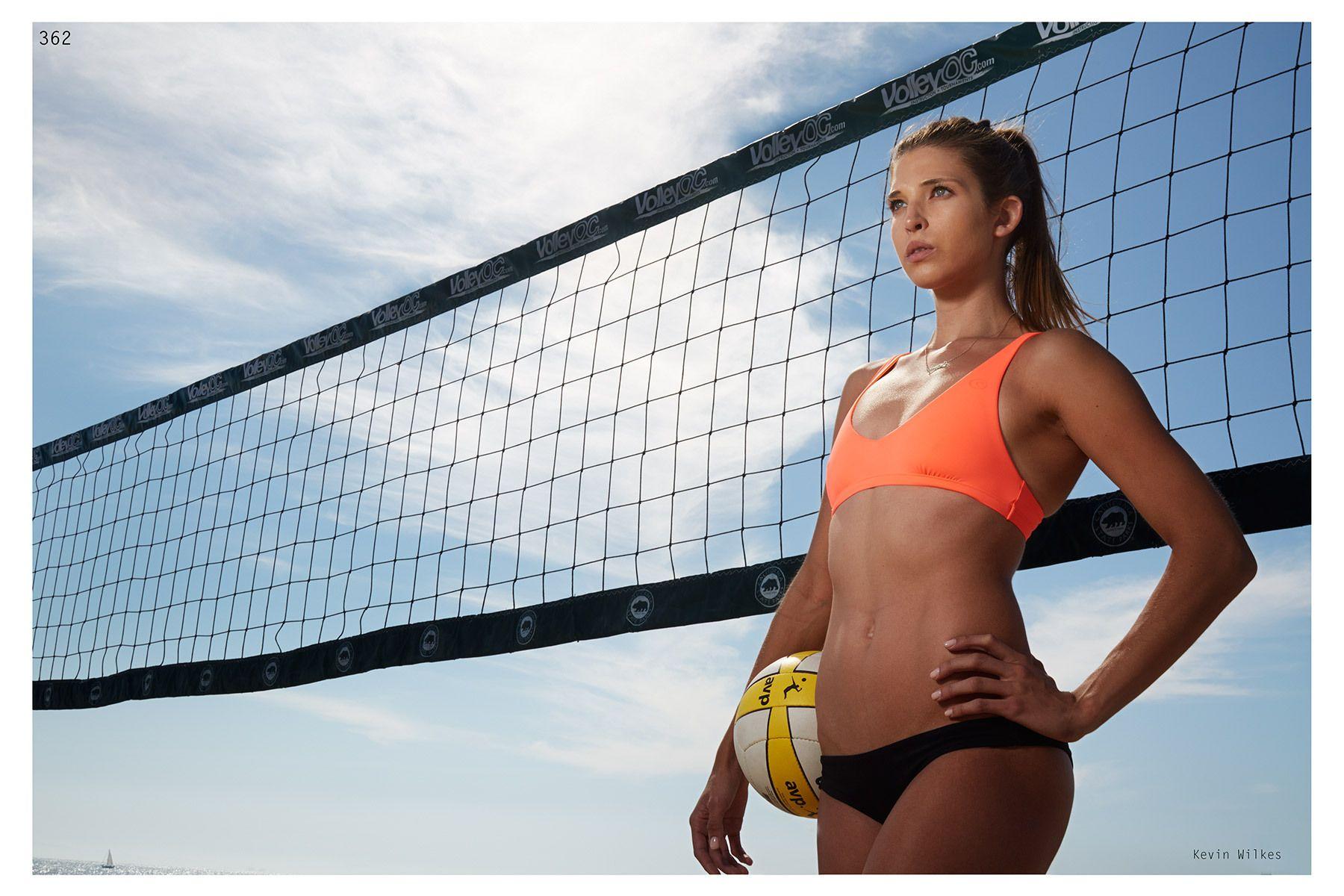 Lauren Sieckman. Pro beach vollyball player.