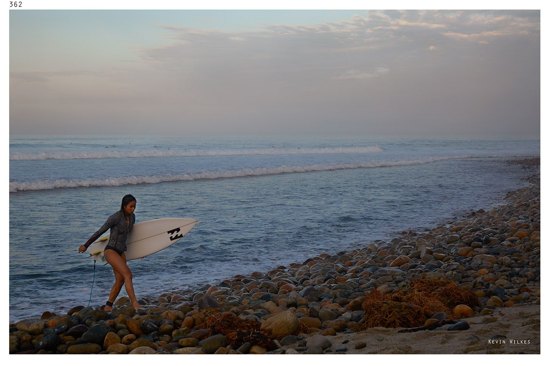 Alessa Quizon. Trestles morning.