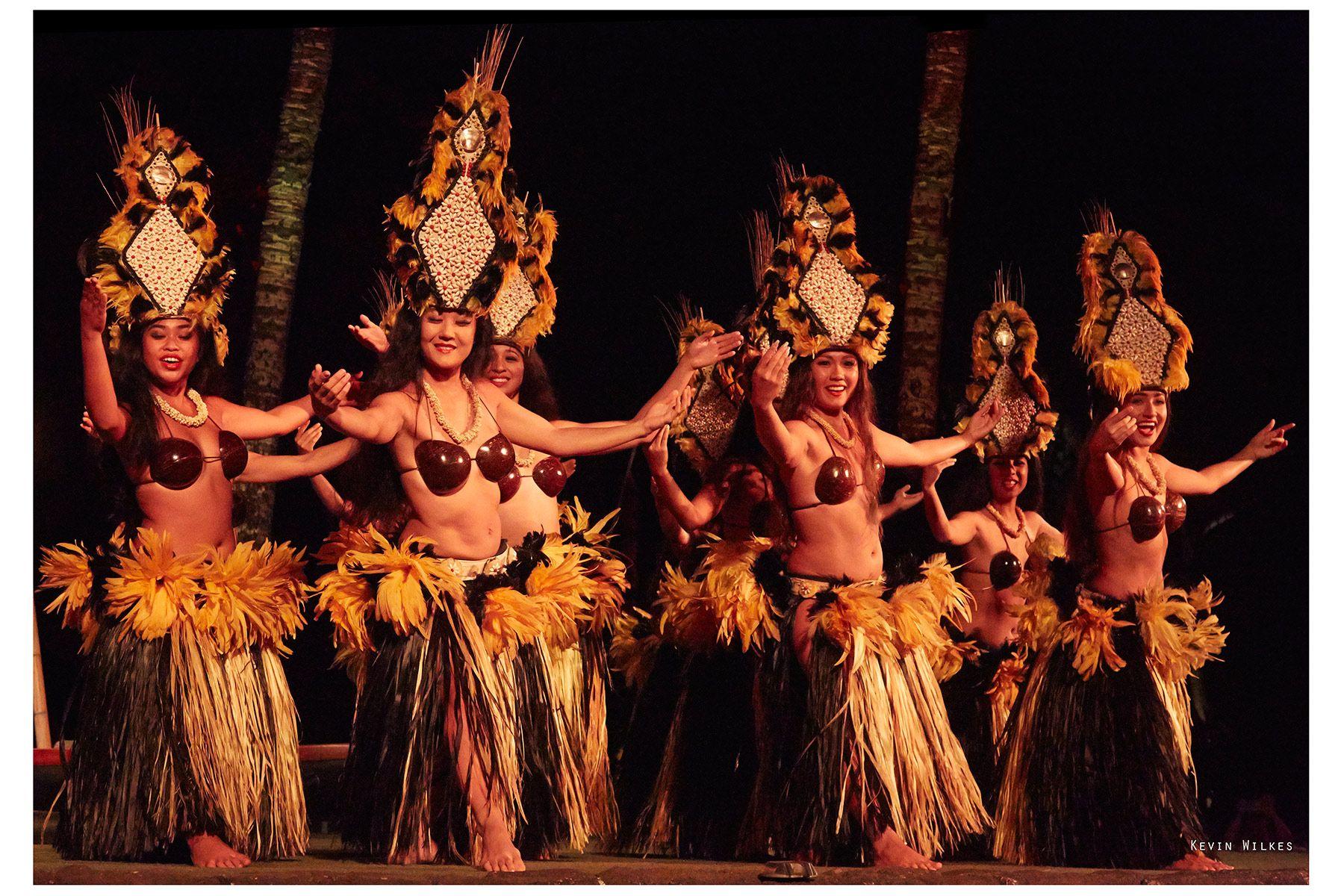 Hula dancers,Maui.