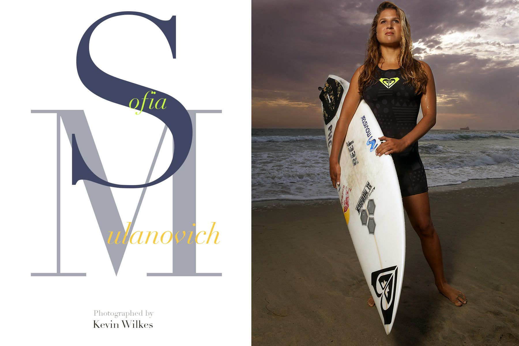 Sofia Mulanovich. 2 Time WCT Womens Surfing champion.