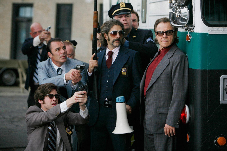 Michael Imperioli and Harvey Keitel